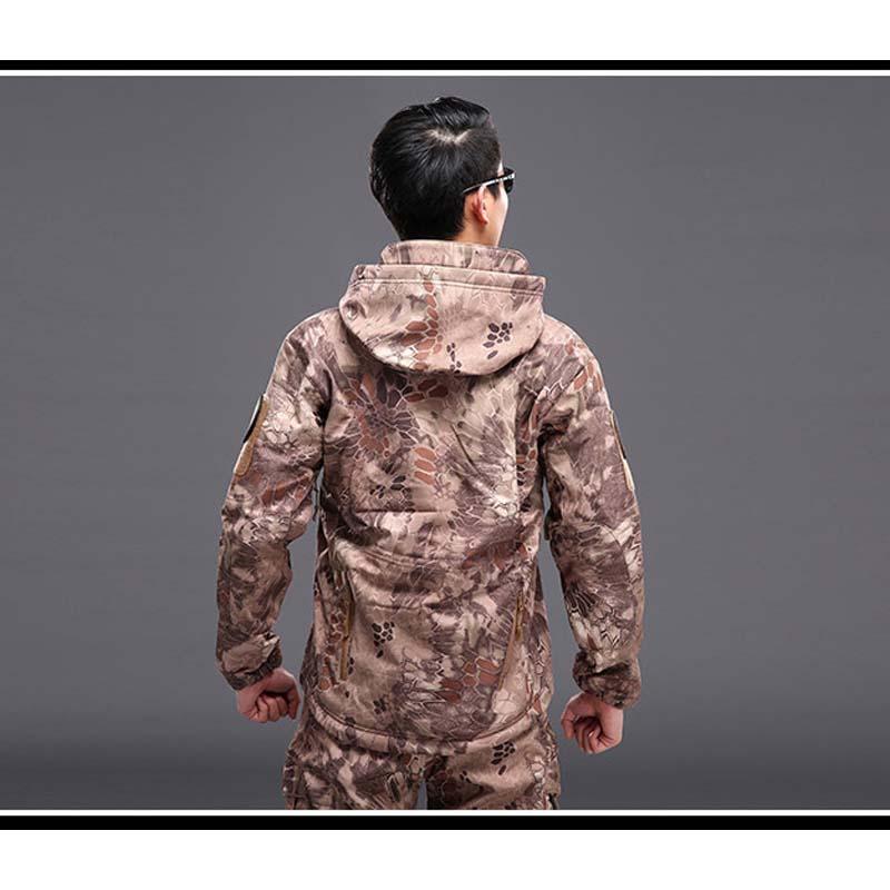 Фритюрница MILE Мужская тактическая куртка из флиса (Фото 5)
