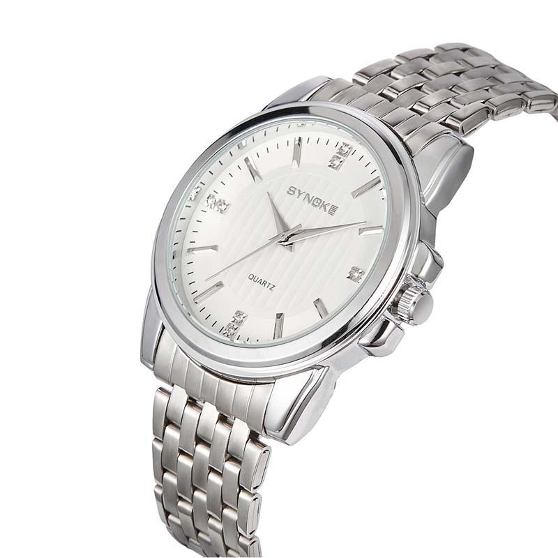 Фритюрница MILE Мужские наручные часы с кожаным ремешком (Фото 5)
