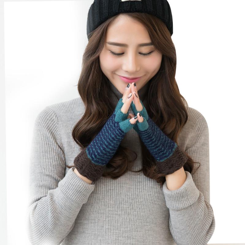MILE Женские спортивные перчатки без пальцев для осени