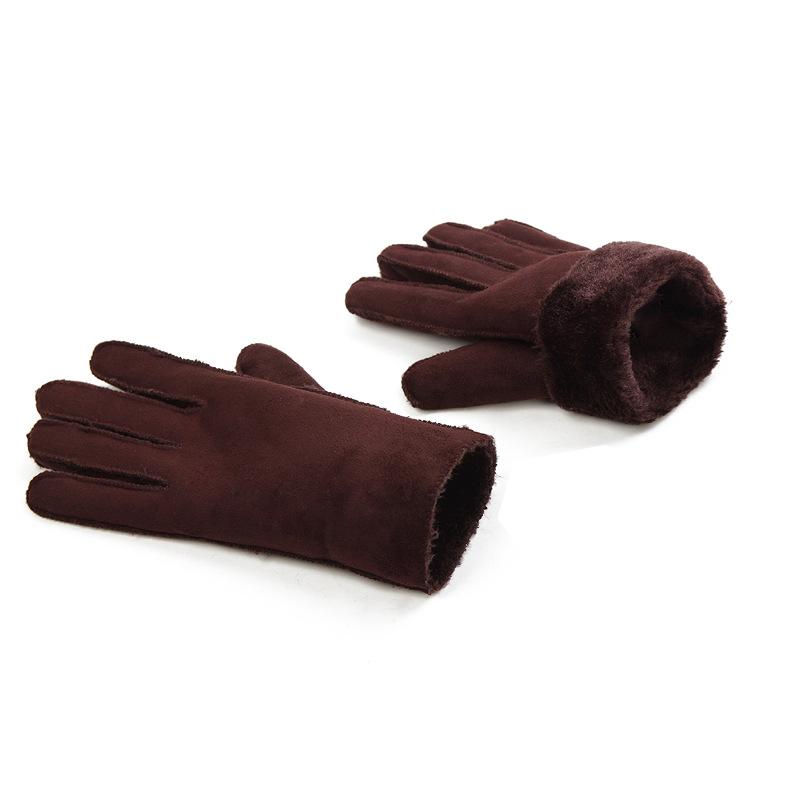 Фритюрница MILE Мужские спортивные перчатки из флиса (Фото 5)