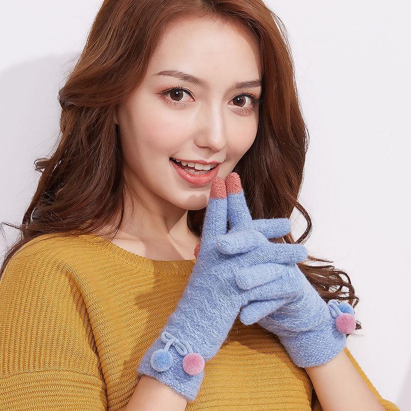 MILE Женские перчатки осень-зима