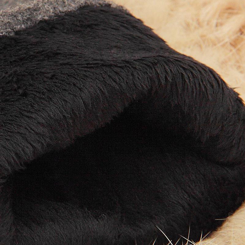 Фритюрница MILE Женские зимние перчатки для сенсора из меха кролика (Фото 3)