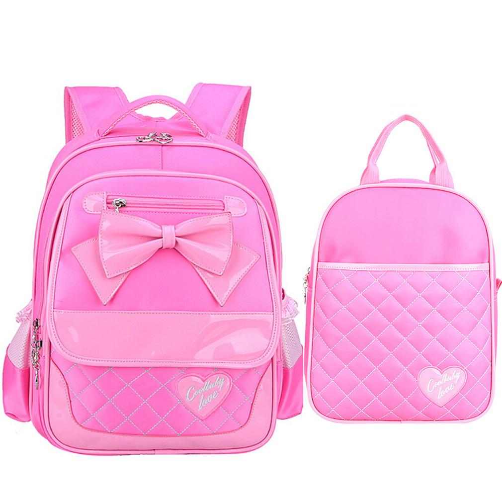 2Pcs Grade 1-3 Kids Girls Backpacks Primary School Handbag Children Girls  School Bags pink   Kilimall Kenya e17b6b3860