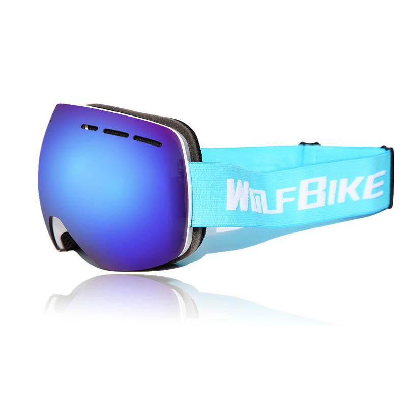 Горнолыжные аксессуары MILE Лыжные противотуманные очки UV401 (Фото 5)