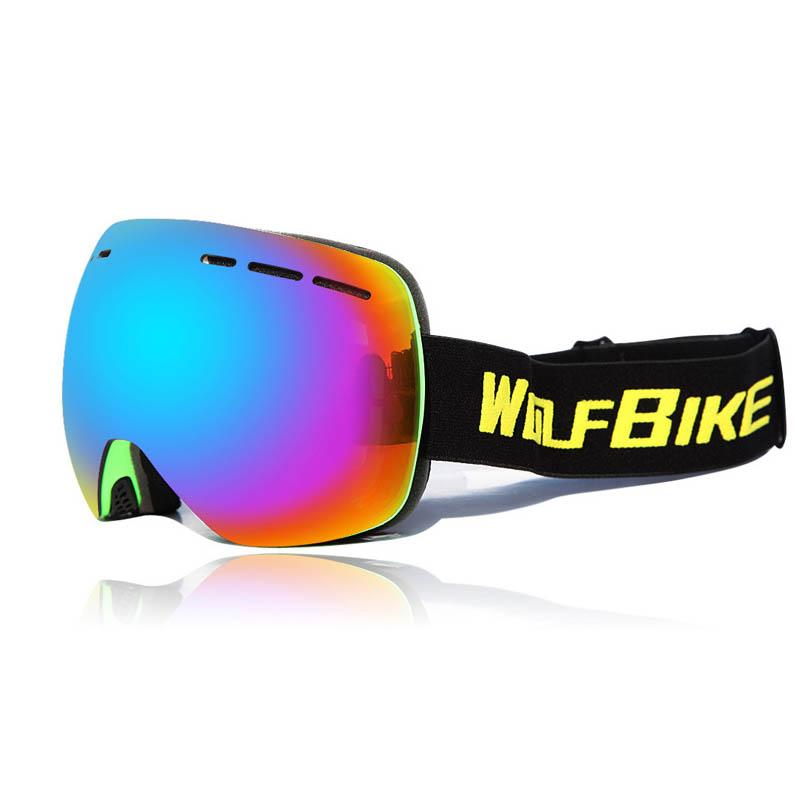 Горнолыжные аксессуары MILE Лыжные противотуманные очки UV401 (Фото 6)