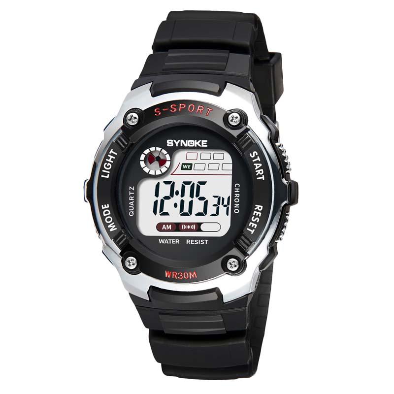 Фритюрница MILE Детские электронные спортивные цифровые часы (Фото 1)