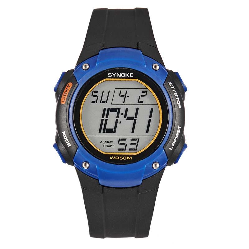 Фритюрница MILE Водонепроницаемые спортивные мужские часы (Фото 1)