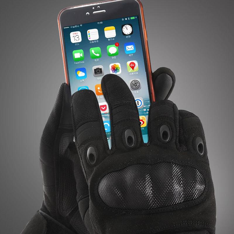 Фритюрница MILE Мужские тактические сенсорные перчатки (Фото 4)