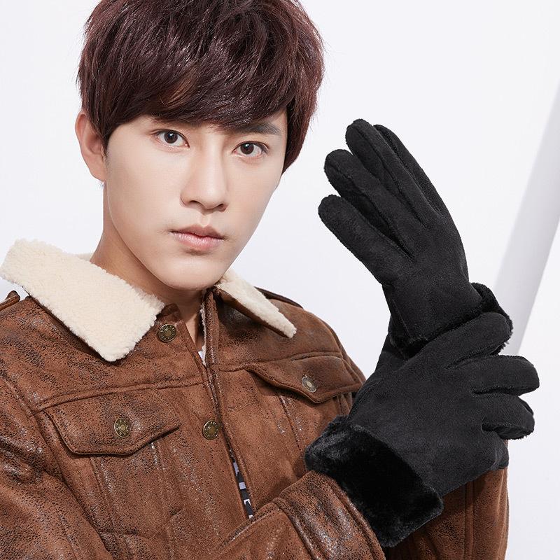 Фритюрница MILE Мужские спортивные перчатки из флиса (Фото 1)