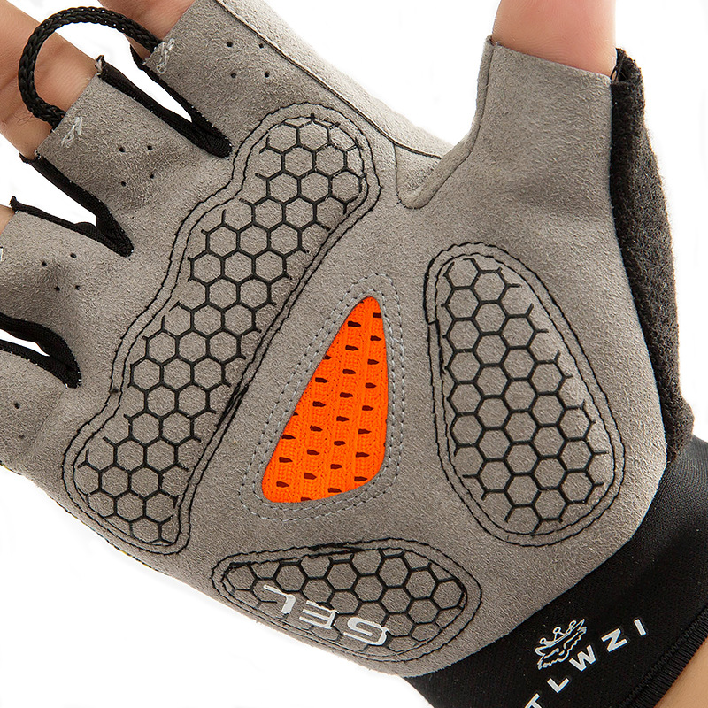 Фритюрница MILE Спортивные антискользящие перчатки без пальцев (Фото 3)