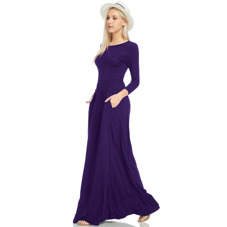 Фритюрница MILE Макси платье с длинным рукавом осень-зима (Фото 4)