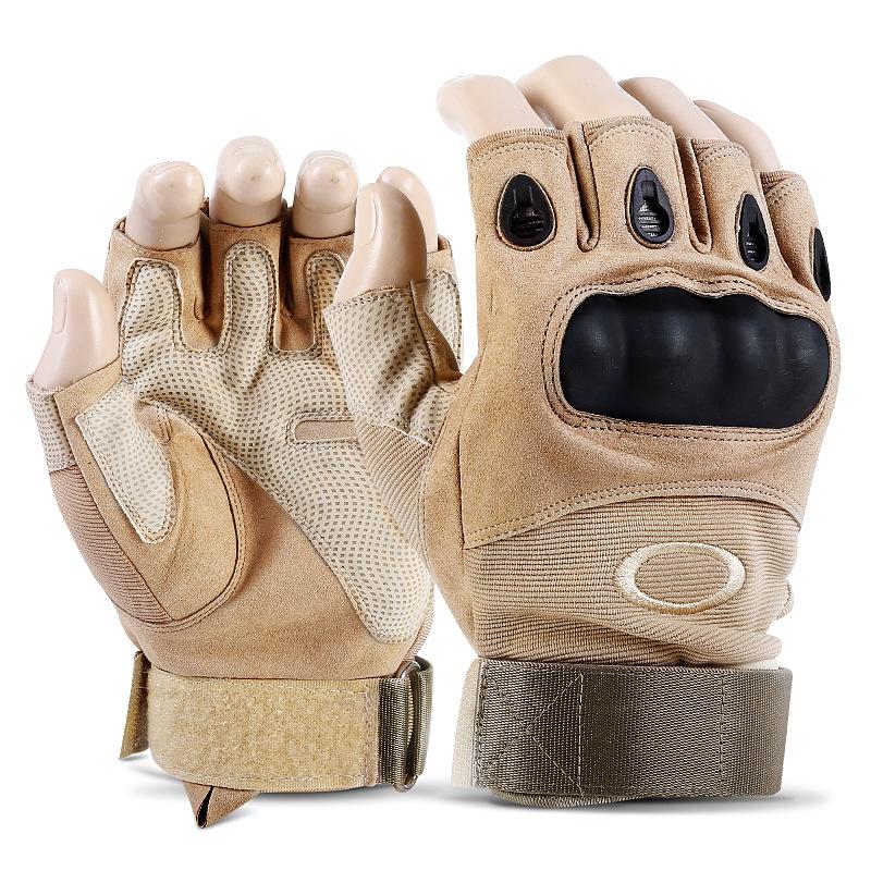 Фритюрница MILE Тактические спортивные перчатки без пальцев (Фото 5)