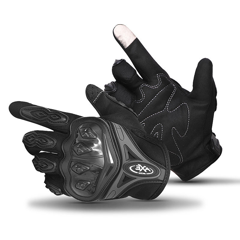Фритюрница MILE Мотоперчатки с покрытием для сенсорных экранов (Фото 5)