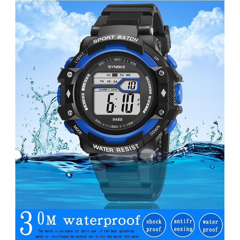 Фритюрница MILE Подростковые водонепроницаемые наручные часы (Фото 3)
