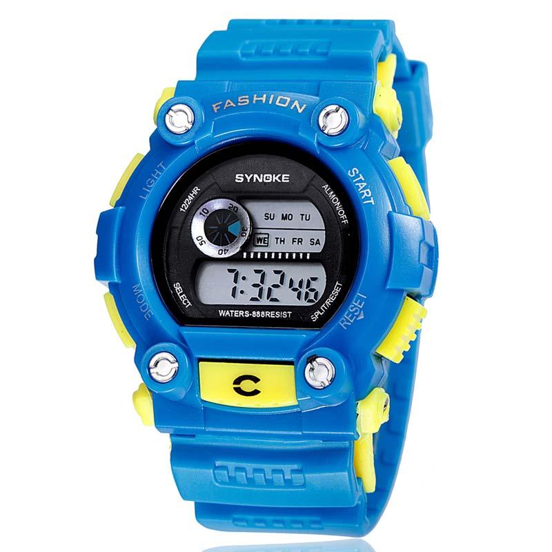 Фритюрница MILE Часы мужские цифровые водонепроницаемые (Фото 1)