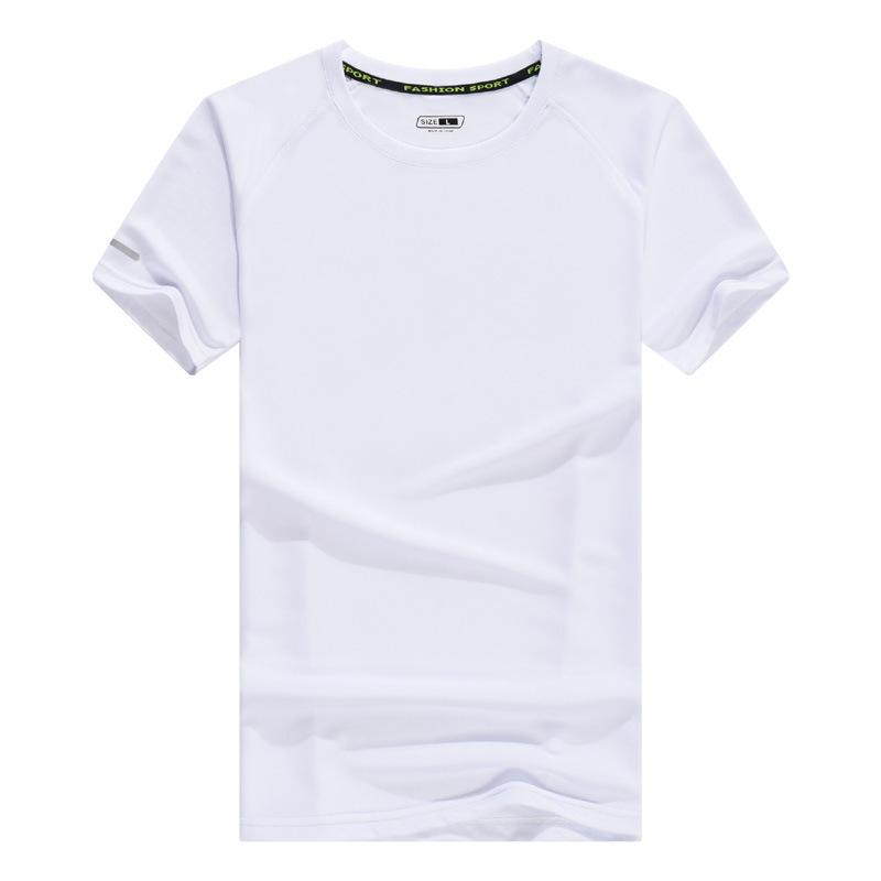 MILE Спортивная дышащая футболка для мужчин и женщин