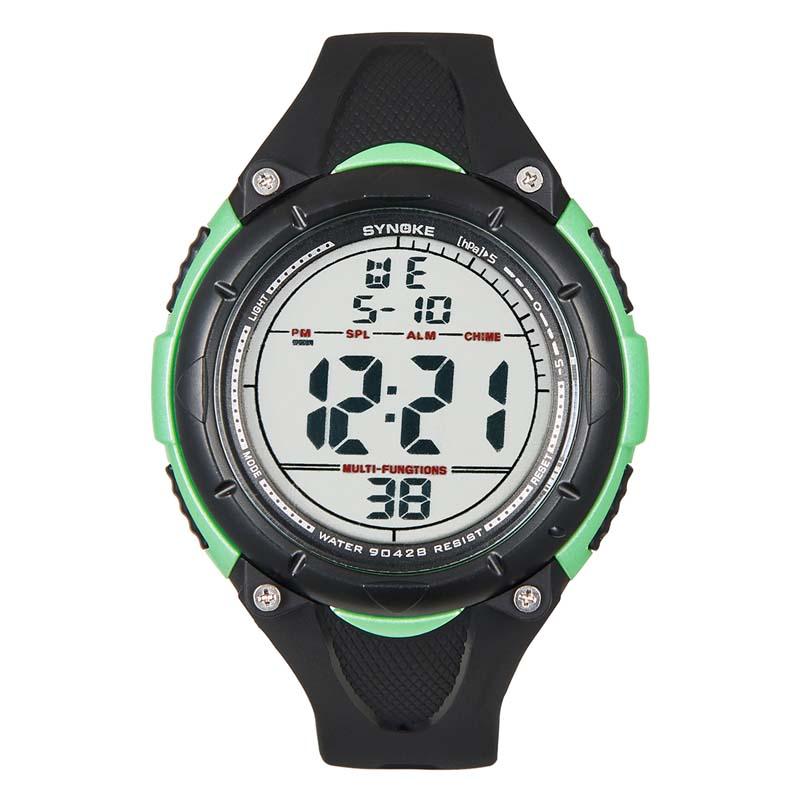 Фритюрница MILE Мужские цифровые силиконовые спортивные часы (Фото 4)