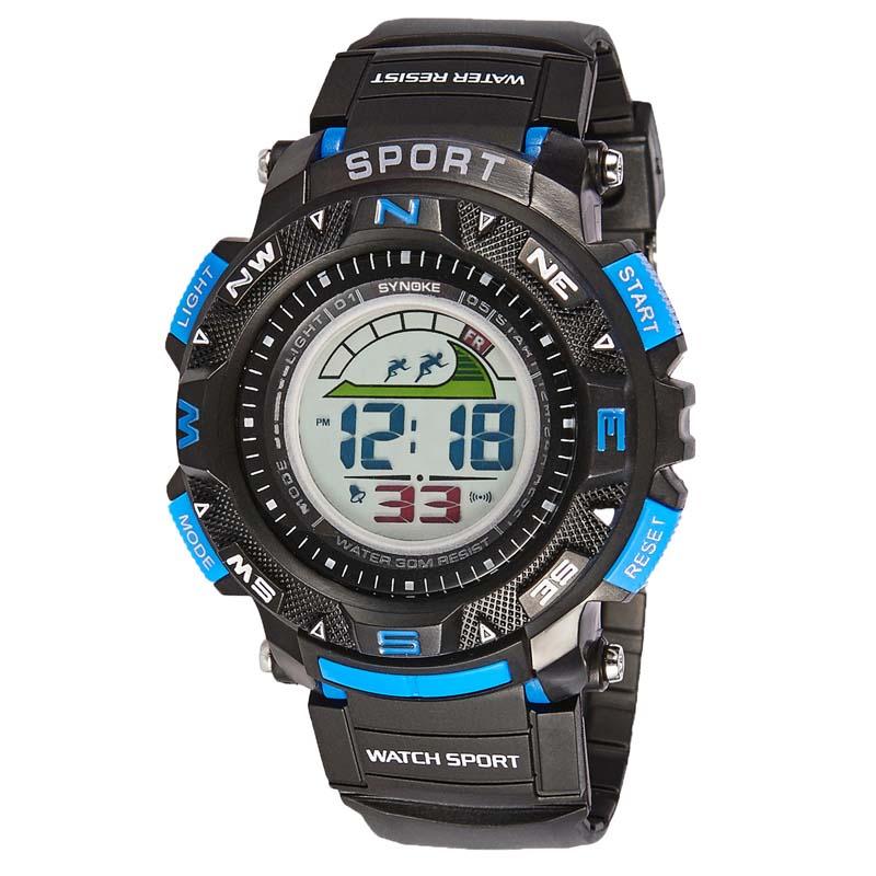 Фритюрница MILE Мужские спортивные цифровые наручные часы (Фото 6)