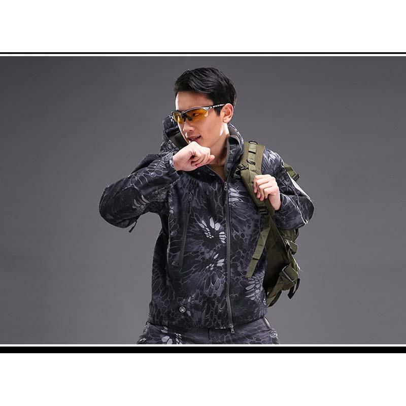 Фритюрница MILE Мужская тактическая куртка из флиса (Фото 3)