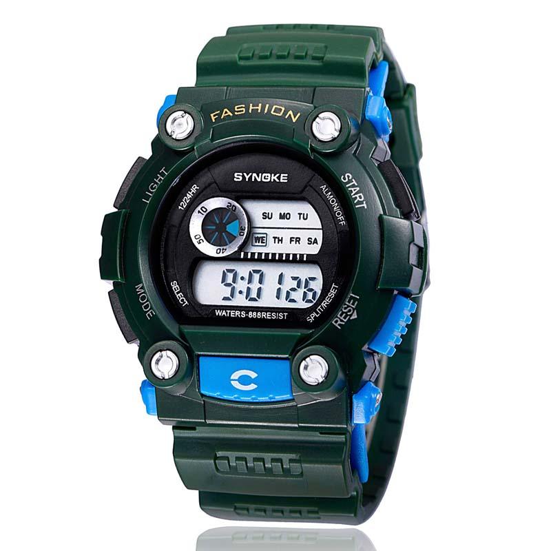Фритюрница MILE Часы мужские цифровые водонепроницаемые (Фото 2)