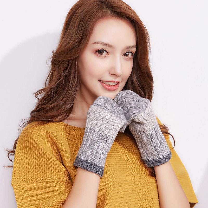 Фритюрница MILE Женские перчатки из флиса осень-зима (Фото 4)