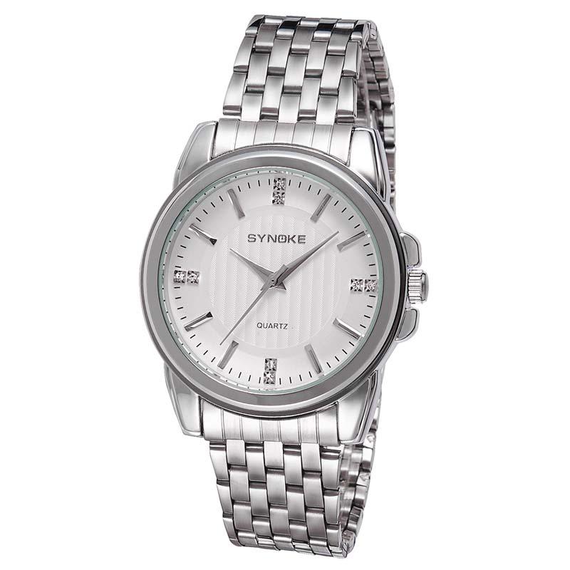 Фритюрница MILE Мужские наручные часы с кожаным ремешком (Фото 1)