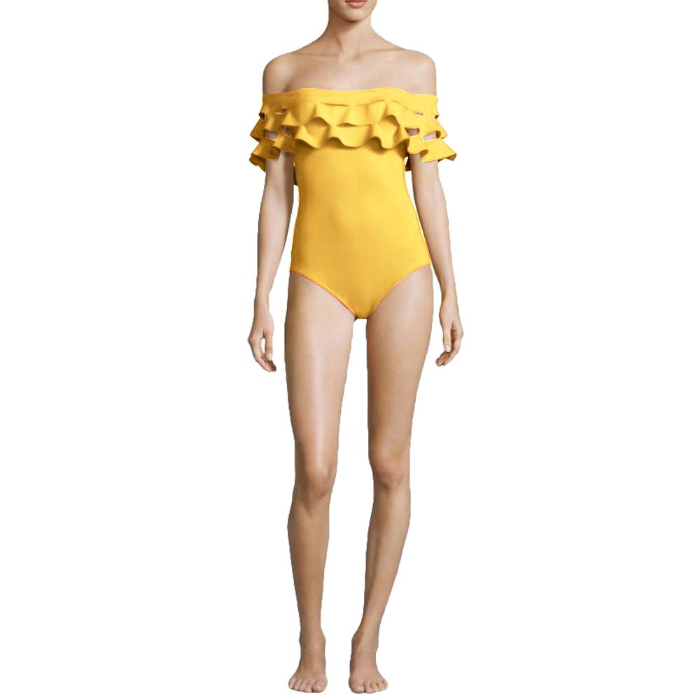 MILE Женский купальник с открытыми плечами