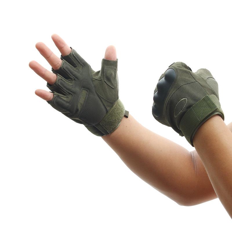 Фритюрница MILE Тактические спортивные перчатки без пальцев (Фото 1)