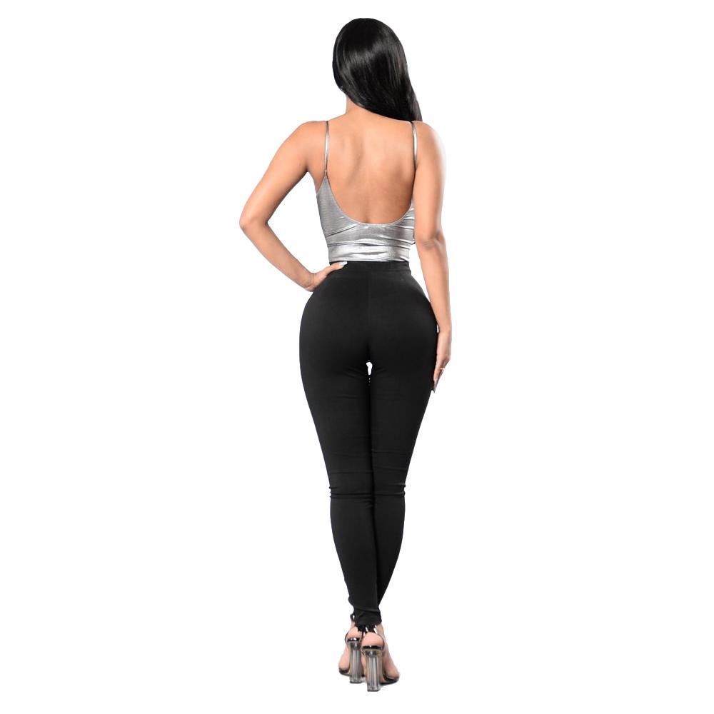 Фритюрница MILE Женские узкие брюки со шнуровкой (Фото 3)