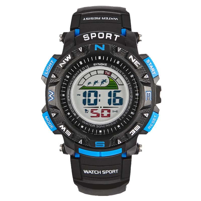 Фритюрница MILE Мужские спортивные цифровые наручные часы (Фото 5)