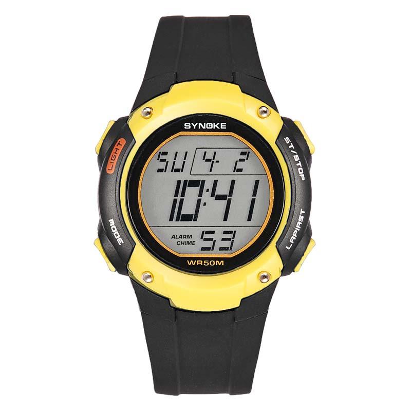 Фритюрница MILE Водонепроницаемые спортивные мужские часы (Фото 4)