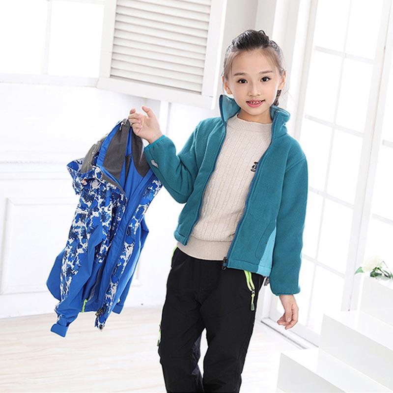Фритюрница MILE Детская двойная спортивная куртка из флиса (Фото 3)