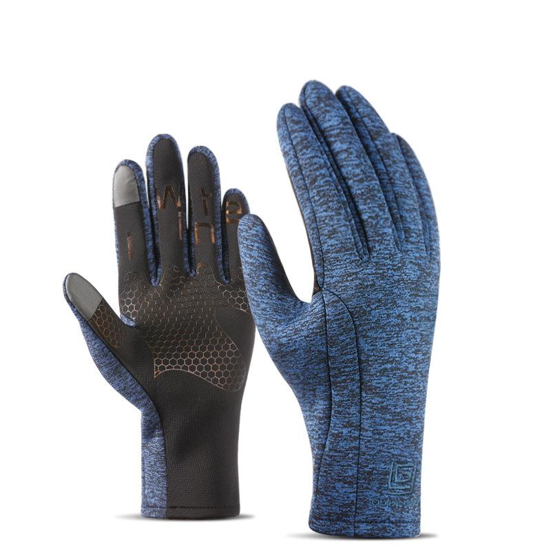 Фритюрница MILE Зимние спортивные антискользящие перчатки из флиса (Фото 1)