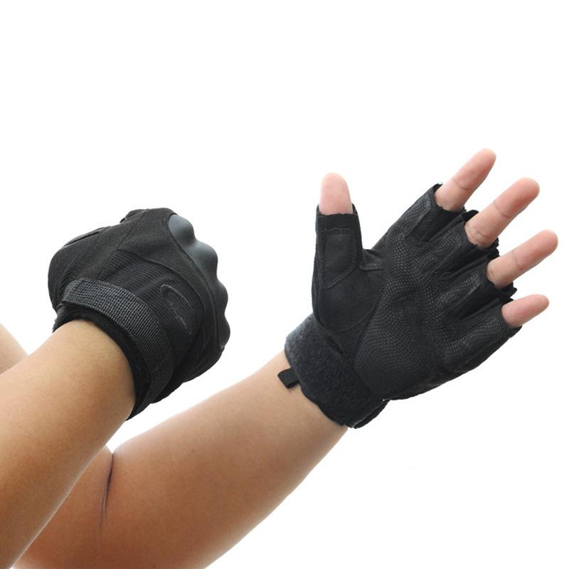 Фритюрница MILE Тактические спортивные перчатки без пальцев (Фото 6)