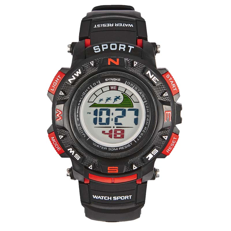 MILE Мужские спортивные цифровые наручные часы