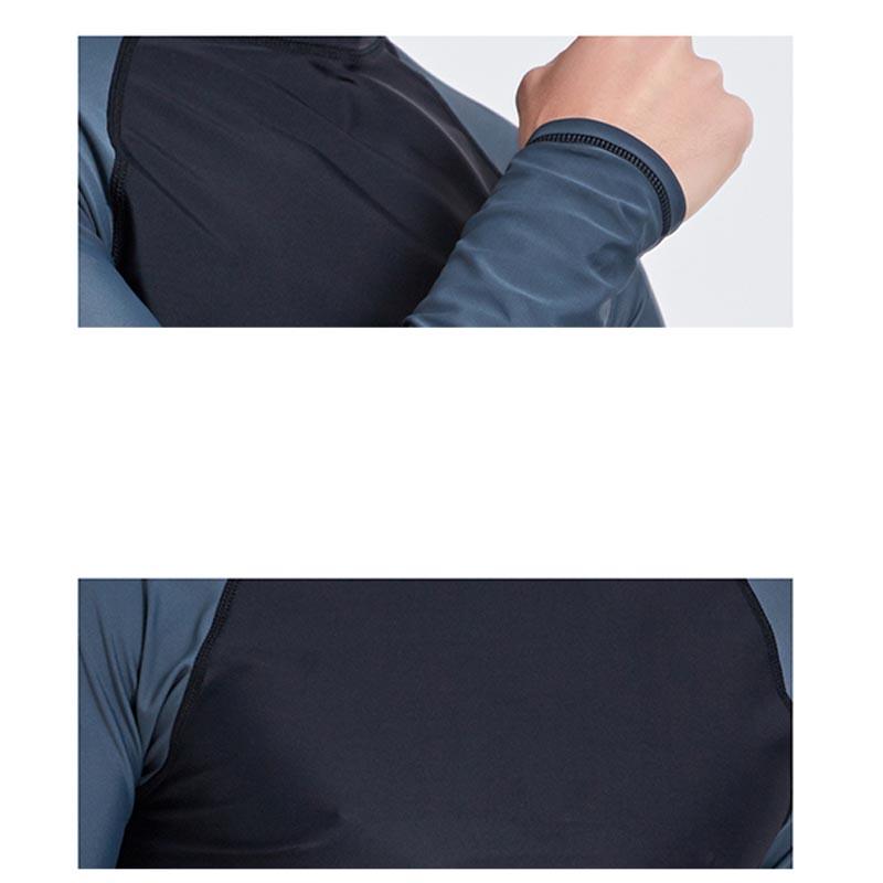 Фритюрница MILE Мужская гидрофутболка с длинным рукавом (Фото 6)