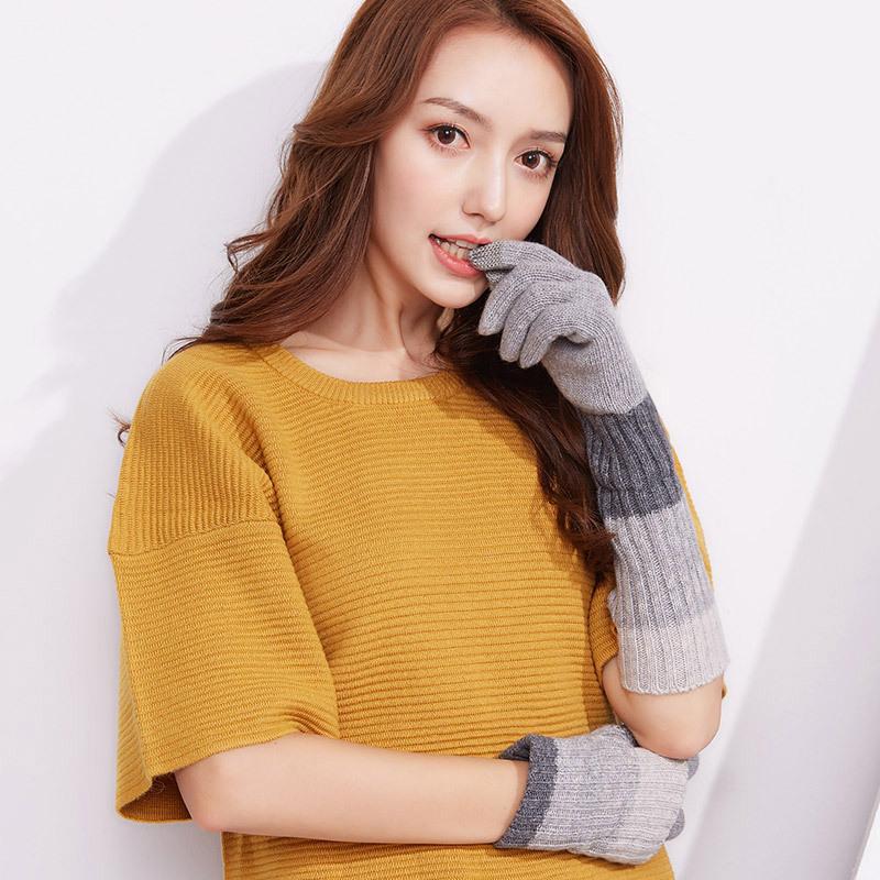 Фритюрница MILE Женские перчатки из флиса осень-зима (Фото 3)