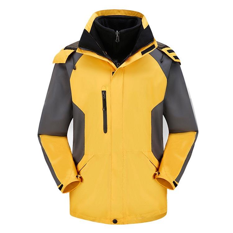 MILE 2 в 1теплая зимняя мужская куртка из флиса для спорта