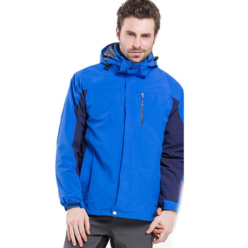 MILE Ветрозащитная водонепроницаемая мужская куртка из флиса