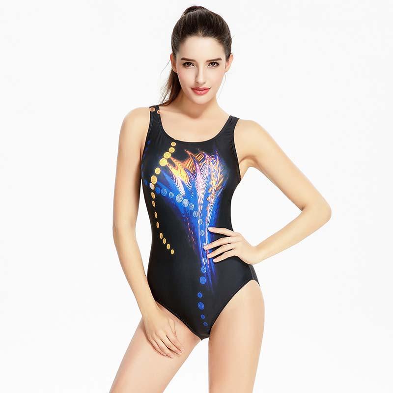 Фритюрница MILE Женский спортивный купальник с принтом размер плюс (Фото 3)