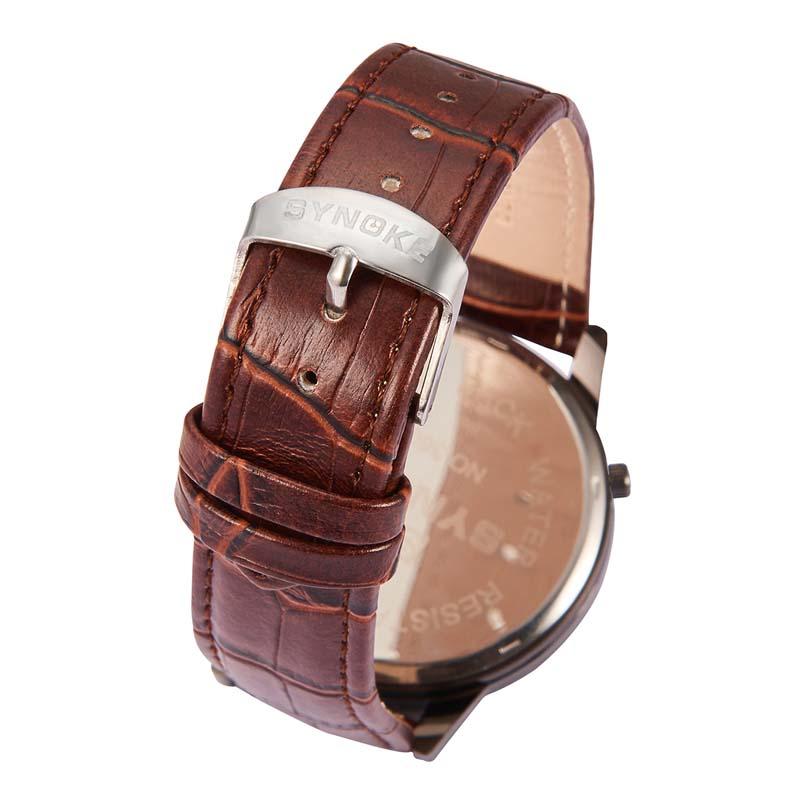 Фритюрница MILE Кварцевые наручные часы с кожаным ремешком (Фото 5)