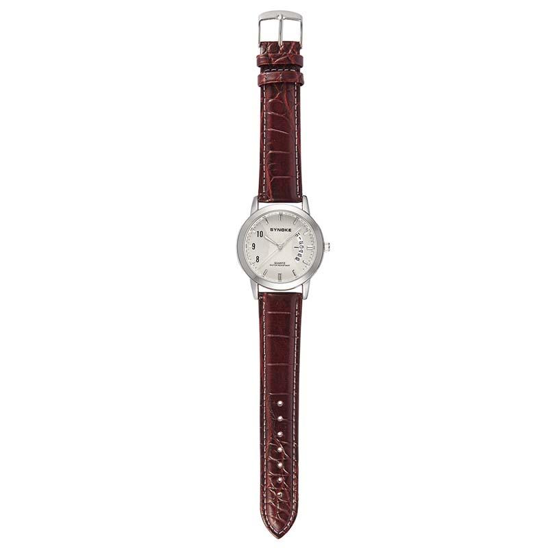Фритюрница MILE Женские кварцевые  часы с кожаным ремешком (Фото 5)
