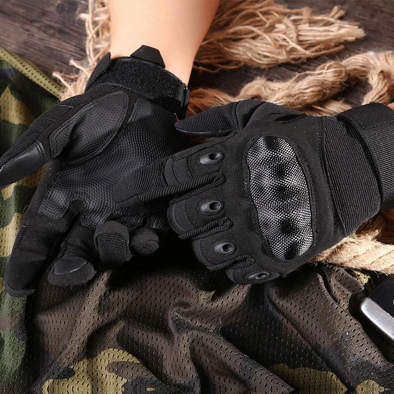 Фритюрница MILE Мужские тактические сенсорные перчатки (Фото 3)