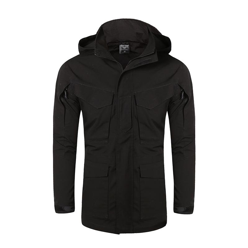 Фритюрница MILE Мужское тактическое пальто с капюшоном (Фото 5)
