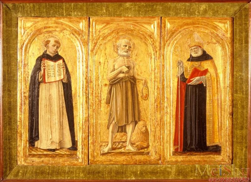 【打印级】YH51140043油画宗教人物图片Benvenuto di Giovanni, Italian, 1470-1524-18M-3009X2181