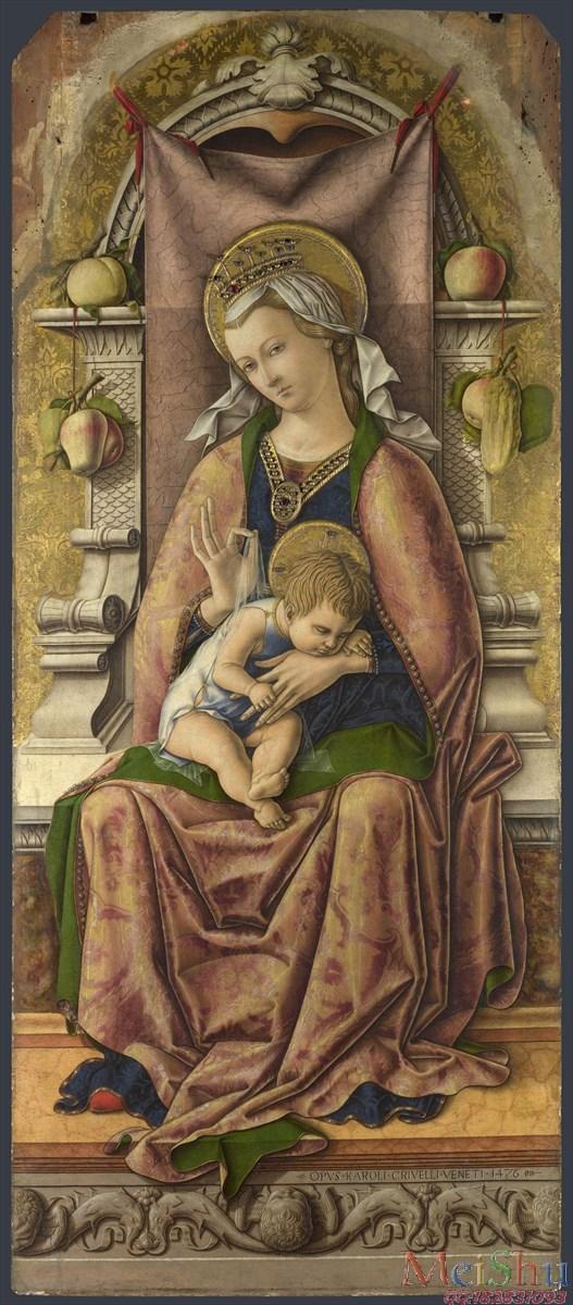 �����ͼ���YH4125966�ͻ��ڽ̴���ʥĸʥ��ͼƬThe Virgin and Childʥĸ�� 1476, Carlo Crivelli-22M-1872X4262