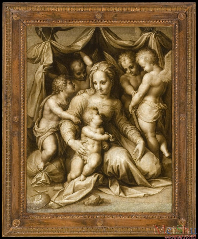 ����ӡ����YH4125527�ͻ��ڽ̴���ʥĸʥ��ͼƬAndrea del Sarto, Copy or After, Italian-33M-3120X3768