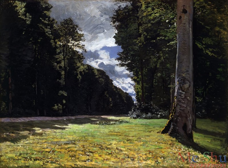 ����ӡ����YH4127574ӡ�����ͻ�ͼƬ�羰Claude Monet - Le Pav�� de Chailly in the Forest of Fontainebleau (1865)-16M-2