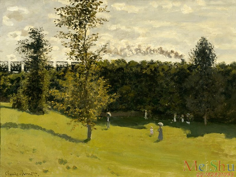 ����ӡ����YH4127647ӡ�����ͻ�ͼƬ�羰Claude Monet - Train in the Countryside (1870)-26M-3540X2660