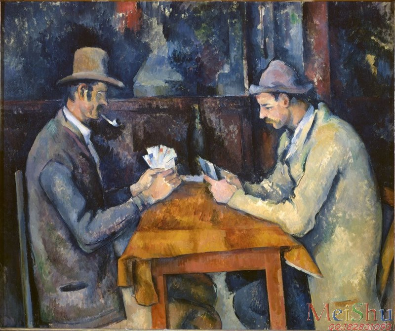 【欣赏级】YH5091616印象派油画人物图片Card players (Courtauld)-10M-2108X1768